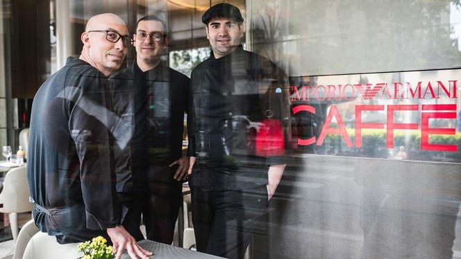 Equipe - Emporio Armani Caffè Ristorante, Paris