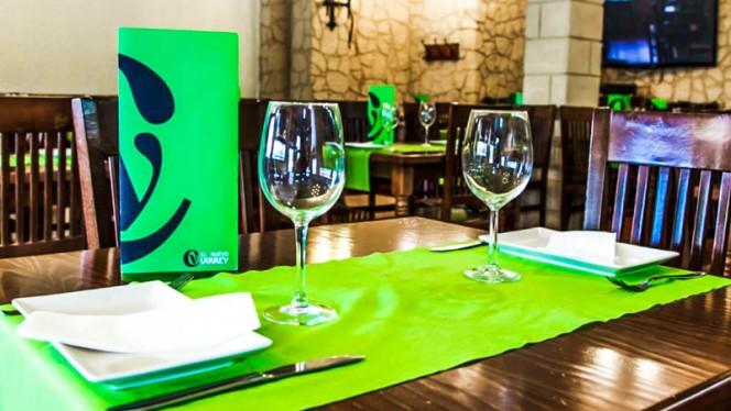 Detalle mesa - El Nuevo Virrey, Valencia