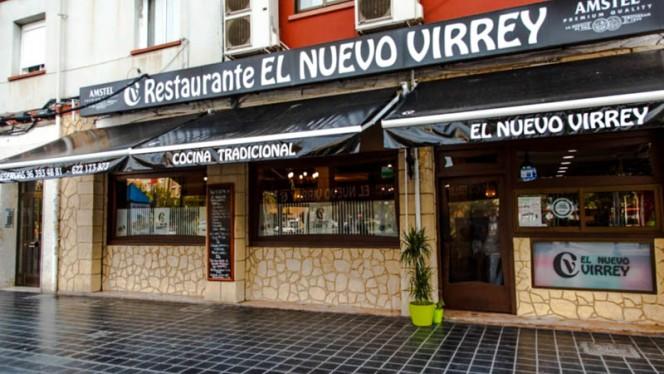 La fachada - El Nuevo Virrey, Valencia