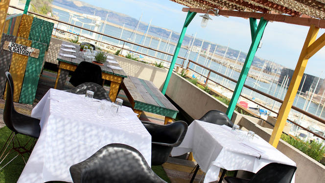 Rowing Club Restaurant. - Rowing Club Restaurant, Marseille