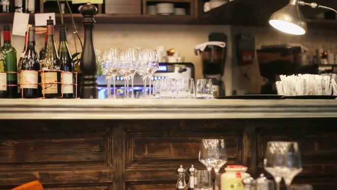 Détail de décoration Restaurant Au coup de torchon - Au Coup De Torchon, Paris