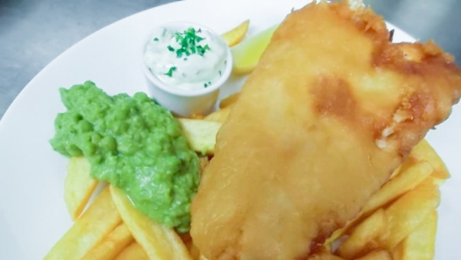 Fish and Chips - Elephant and Castle, Lyon