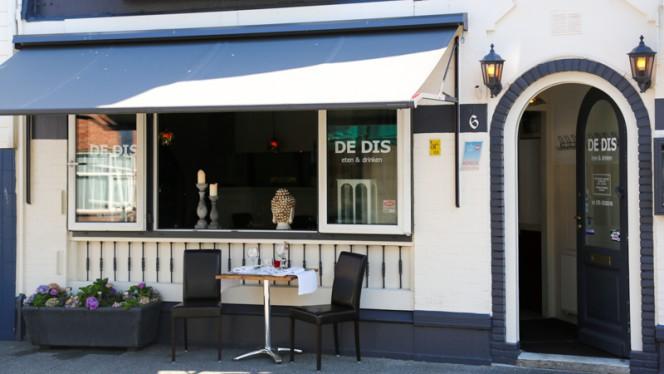 Ingang - De Dis eten & drinken, Den Haag