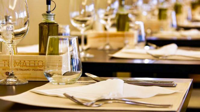 Detalhe da mesa - Tumatto Ristorante Italiano e Pizzaria & Lab 253, Braga