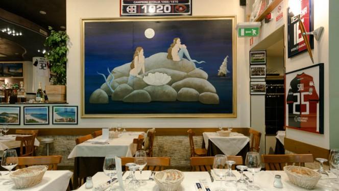 Vista sala - L'isola del Tesoro, Milan