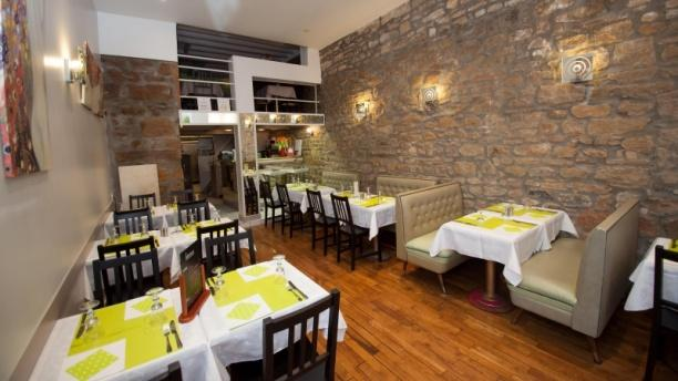 Salle du restaurant - Les Apprentis, Lyon