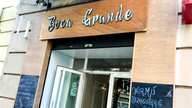 Entrada - Boca Grande, Madrid