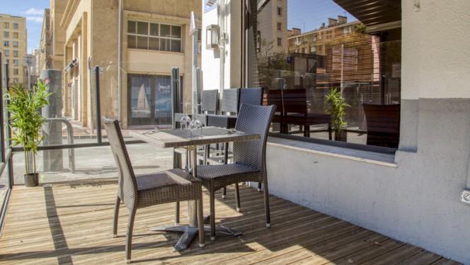 Vue de la terrasse - Chez Lolo, Marseille