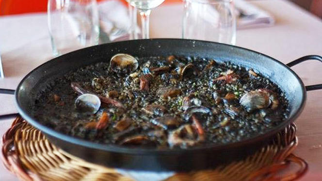 Arroz negro - Xup Xup Restaurant, Barcelona