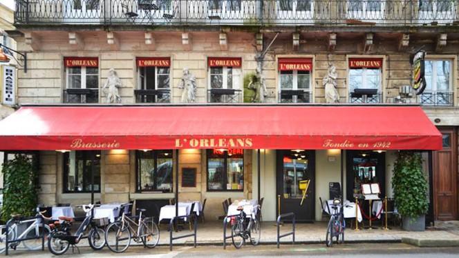 Façade Allées d'Orléans - Brasserie de l'Orléans, Bordeaux
