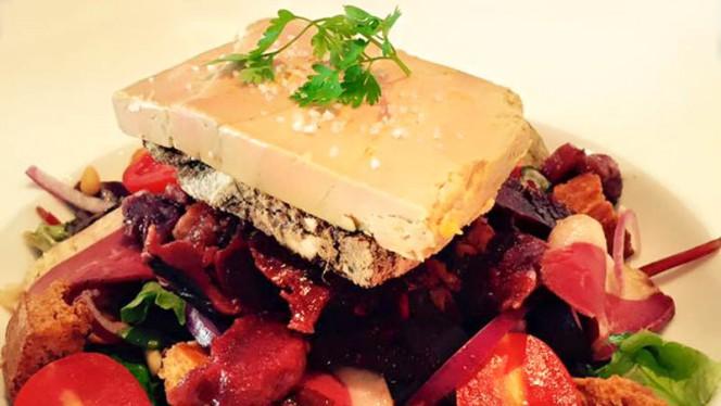 Salade Landaise Foie Gras - Brasserie de l'Orléans, Bordeaux