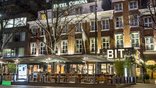 Ingang - BIT Grill and Café, Den Haag