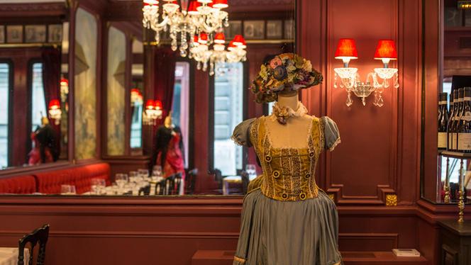Vue de détail - Bistrot de l'Opéra Carmen, Paris