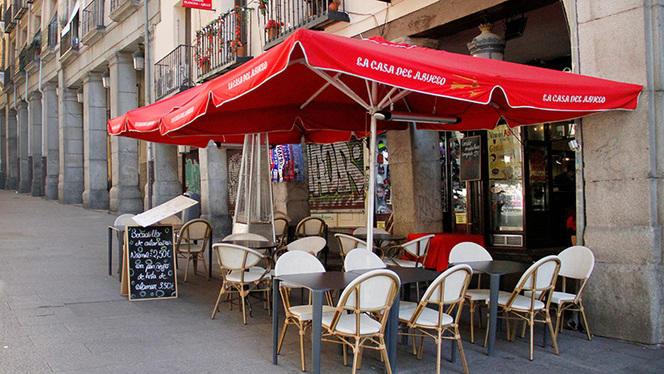 Terraza - La Casa del Abuelo - Plaza Mayor, Madrid