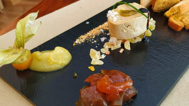 Foie micuit - Harinas Cocina a Fuego Lento, Sevilla
