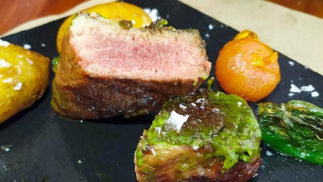 Presa glaseada a la mostaza - Harinas Cocina a Fuego Lento, Sevilla
