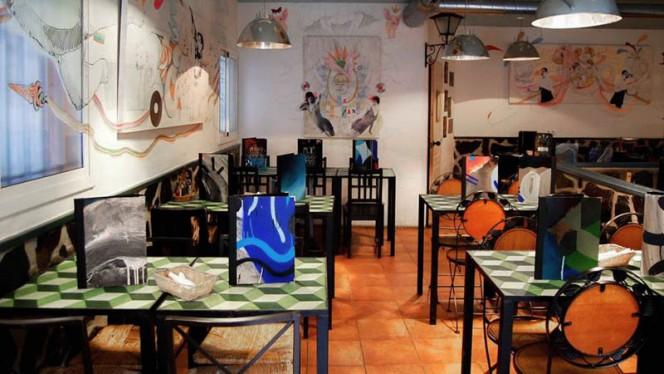 La sala - La Mia Tana, Sevilla