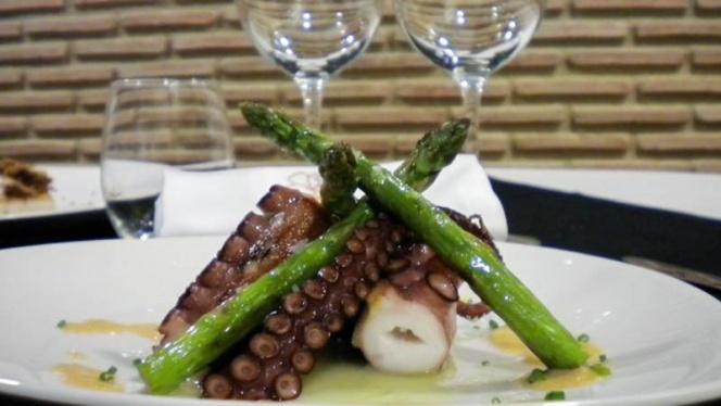 Pulpo - Galileo Club Gastronómico, Valencia