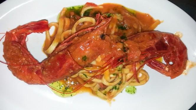 Scialatelli al gambero rosso(carabineros) - Sicilia, Milan
