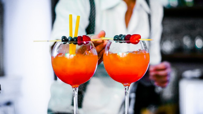 Long drinks alla frutta - The Beach - Green Concept Club, Turin