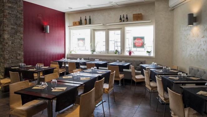 Sala del ristorante - Piazzetta Il Fico, Rome
