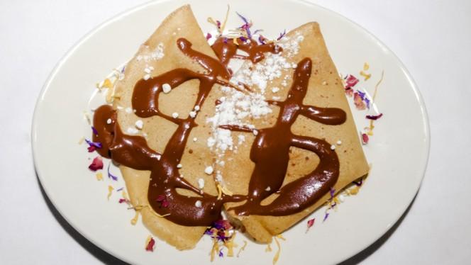 Crepes de chocolate - Dickens, Madrid