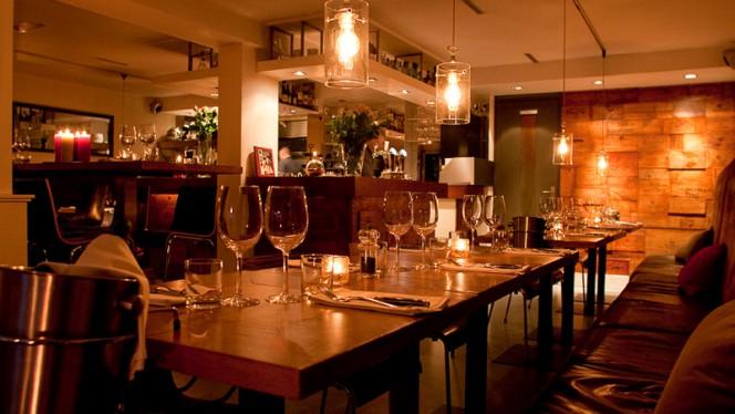 Restaurantzaal - Brasserie SenT, Amsterdam