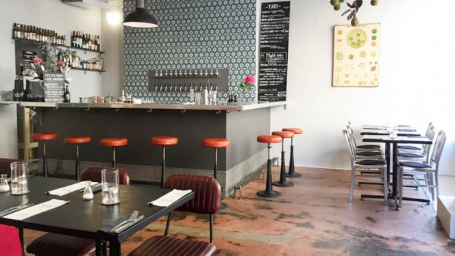 Bar/dining room - Whippet Lab & Social Justice Club, Stockholm