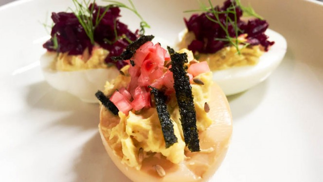 Deviled Eggs - Whippet Lab & Social Justice Club, Stockholm