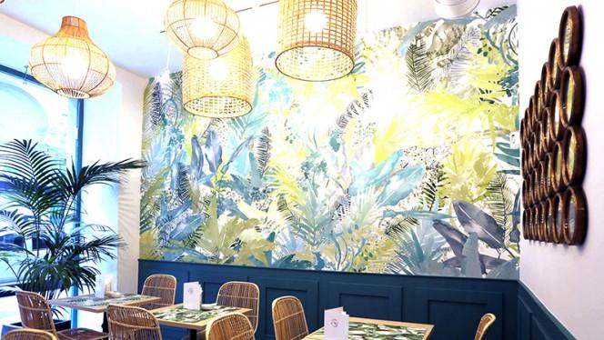 Detalle sala - Seara Café, Madrid