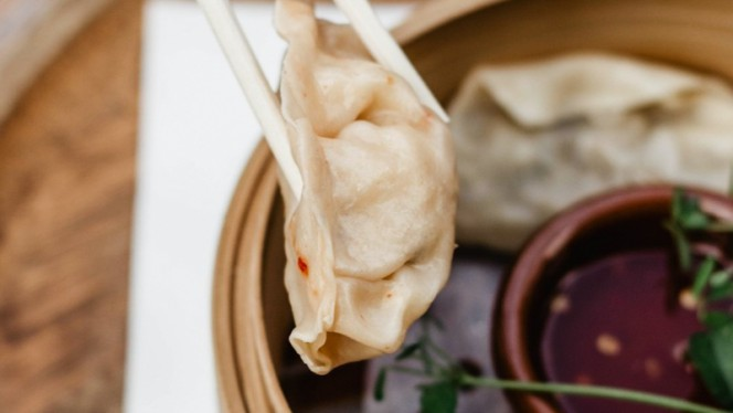 Gyoza, gestoomd - Wicked Wines, Den Haag