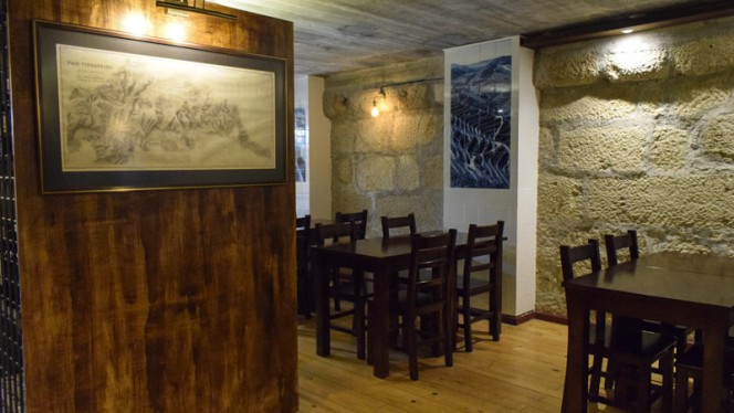 Sala superior - The Wine Barrels, Porto