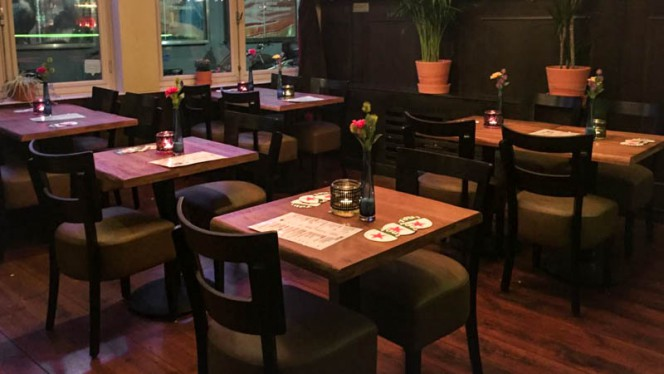 Restaurant - Cuddle Pub, Amsterdam