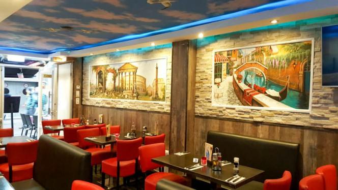 Het restaurant - Casa Nouva, Amsterdam