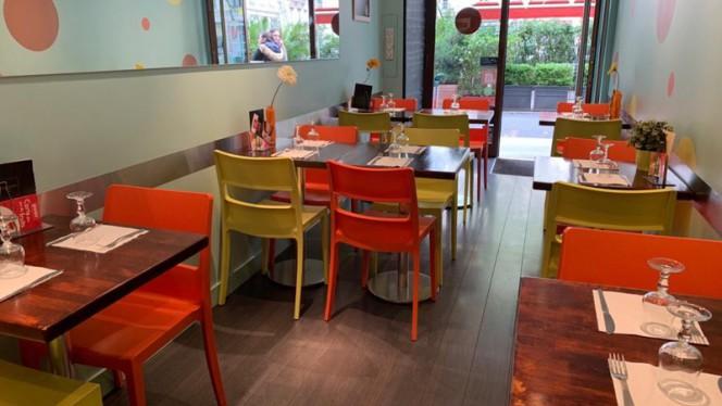Salle du restaurant - Crêperie du Parc, Lyon