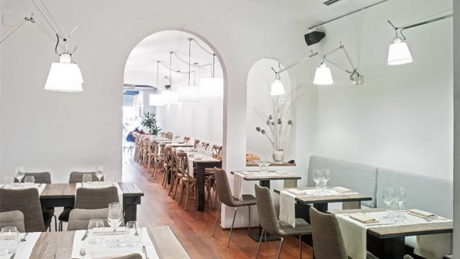 Sala del restaurante - Sergi de Meià, Barcelona