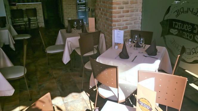 Vista salon - Crêpe Souzette Café, Coslada