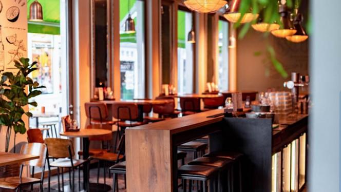 Het restaurant - Toque Toque Foodcafé, Utrecht