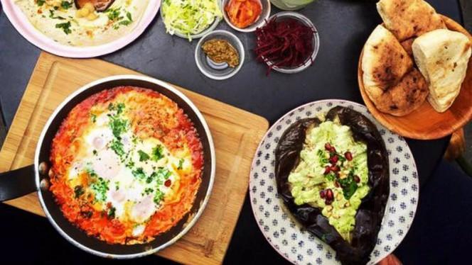 Suggestie van de chef - d&a hummus bistro - oost, Amsterdam