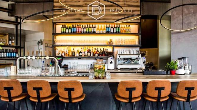Het restaurant - Dimitri's Amsterdam, Ámsterdam