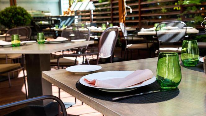 Detalle mesa - Las Raíces del Wellington - Hotel Wellington, Madrid