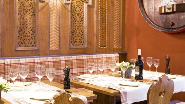 Tables dressées - La Winstub de l'Ile, Ostwald