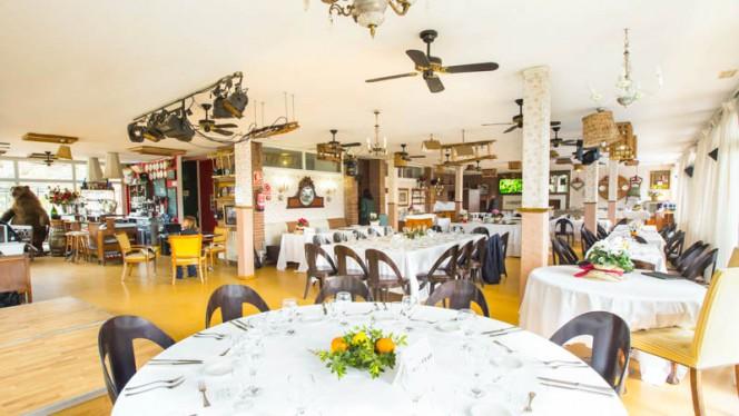 Vista sala - La Fourchette de Collserola, Barcelona