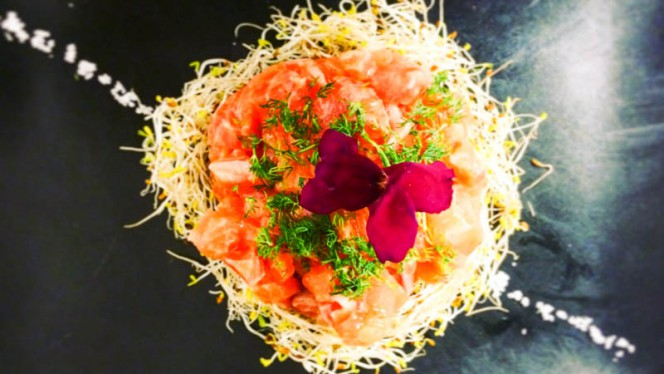 Tartare de saumon - Coco Bohème, Aix-en-Provence