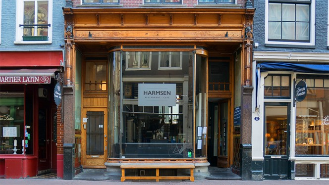 Ingang - HARMSEN, Amsterdam