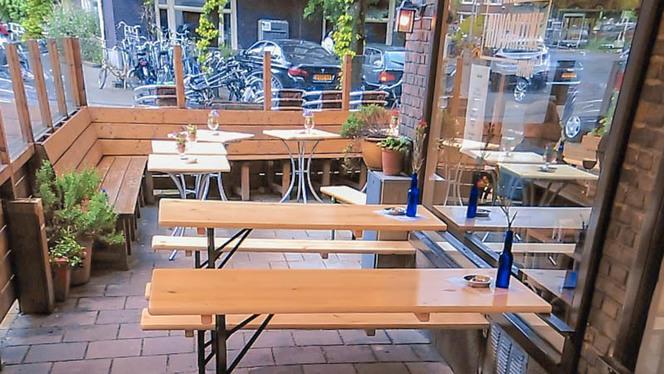 Terras - Eetcafé Rijncantine, Amsterdam