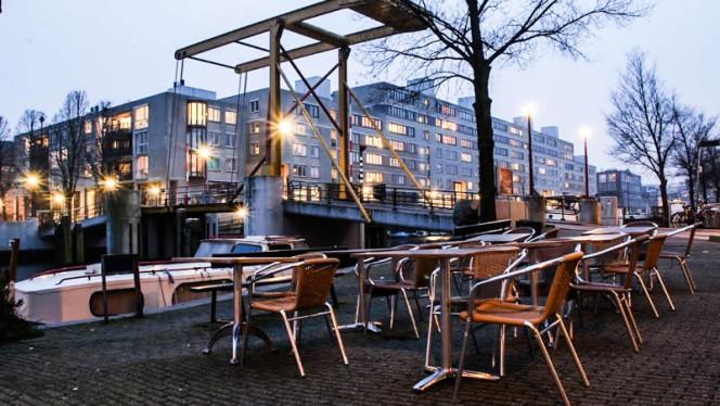 terras - Bloem Eten en Drinken, Amsterdam