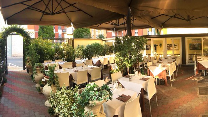 Il giardino interno - Phoenicia, San Donato Milanese