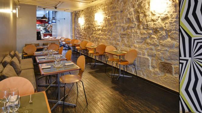 Vue de la salle - Monjul, Paris