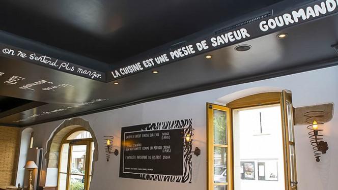 Décoration - Café du Marché Carouge, Carouge